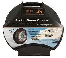 "Snow Chains TXR9 No 40 Car 9mm Quick Fit Polar 13"" 14"" Wheels Tyres Artic"