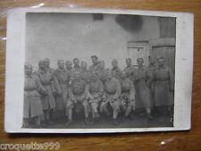 cpa Postcard Carte Photo MILITAIRE militaria WWI soldats 92 uniforme GUILLEMINOT