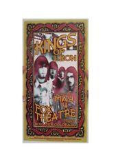Kings Of Leon Poster Handbill Boulder Co The