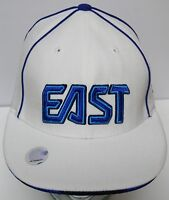 NBA BASKETBALL EAST EASTERN CONFERENCE ALL STAR GAME Adidas WHITE BLUE HAT CAP