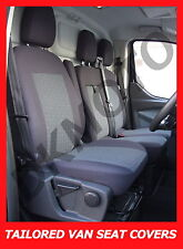 Tailored seat covers for Ford Transit Custom 2015  2 + 1 grey1