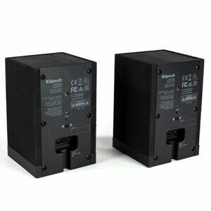 Klipsch Surround 3 2.0 Wireless Surround Speakers - Pair (Black)  NEW  Sealed