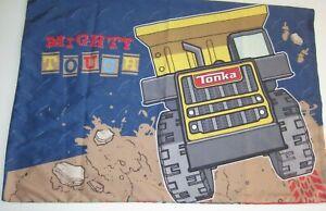 Tonka Trucks Pillow Case Mighty Tough All Gears Multicolor