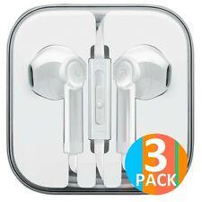 Boost Headphones 3-Pack Earbuds Earphones to 3.5mm Compatible iPhone iPad iPo...