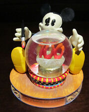 RARE Disney Mickey Mouse Pie Eyes 100 Years Snowglobe Glass Dome Figure Display