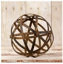 """Audrey's Your Hearts Delight County Rustic Metal Wire Ball - Large - 5"""" x 5"""""""