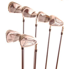 New Adams Idea Mixed Iron Set 4-9, No PW Senior Flex Graphite RH