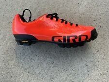 Giro Empire VR90 MTB Cycling Shoes Size 40.5 or US Male 7.5.  Bright Orange.