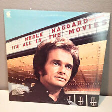 """MERLE HAGGARD - It's All In The Movies - 12"""" Vinyl Record LP - EX"""