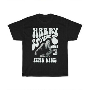 FINE LINE Love On Tour - Harry Styles 2021 Vintage T-Shirt Unisex Tee Gift S-5XL