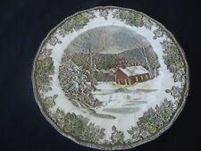 johnson bros  the friendly village school house dinner plate