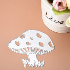 1Pc Metal Mushroom Cutting Dies Stencils DIY Scrapbooking Embossing Decor Craft