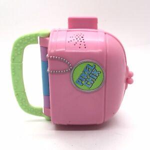 Pixel Chix Love 2 Shop Mall Interactive Pink Purse Mattel 2005 * No Sound Repair