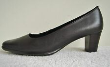 Lotus Brown Leather Court Shoe Size 3 D Fitting  Brand New in Box