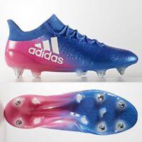 adidas X 16.1 SG FG Mens Football Boots Blue Pink £170 RARE SIZE 6 7 8 9 10 11