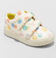 White Cat /& Jack Toddler Girls/' Angel Unicorn 3D Horn /& Tail Slip On Sneakers