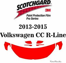 3M Scotchgard Paint Protection Film Pro Series 2013 - 2015 Volkswagen CC R-Line