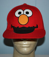 Sesame Street Elmo Big Face Red Fitted Hat Cap 7 1/4