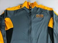 Kennesaw State Owls Jacket Womens Large Adidas ClimaCool Volleyball Zip Pockets