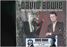 DAVID BOWIE - C'EST LA VIE - 11 LPS BOX SET BLUE VINYL 60 NUMBERED COPIES