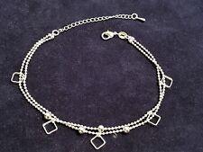 1 cavigliera o bracciale/braccialetto in argento 925 nuovo n. 2