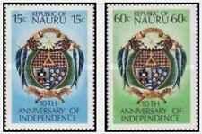 Timbres Blasons Nauru 156/7 ** lot 20951