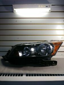 2009 Honda Accord Headlight Left Side