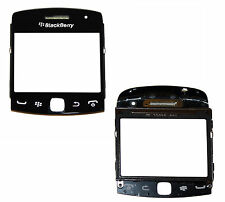 Blackberry 9360 Curve LCD Cover Screen Lens Front Glass Replacement Part Black