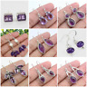 DESIGNER MULTI STONE SHAPE EARRING 925 SOLID STERLING SILVER ONLY FOR PARTY