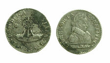 pcc1359_9) BOLIVIA. Silver 1/2 SOL 1830 J