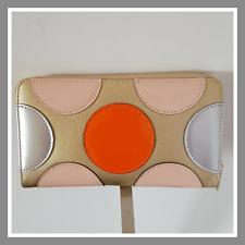Prix mini portefeuille compagnon porte monnaie doré argent orange rose