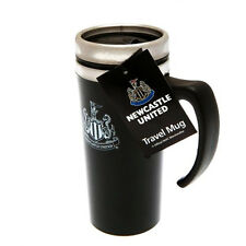 NEWCASTLE UNITED FC ALUMINIUM TRAVEL JOURNEY COFFEE TEA MUG NEW XMAS GIFT