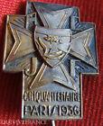 RG488 - INSIGNE ACJF 1936 PARIS Association catholique de la jeunesse française