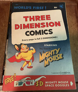 Three Dimension Comics Mighty Mouse