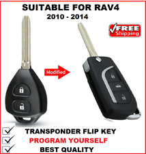 Transponder Remote Flip Car Key  Suitable For Toyota RAV4 2010 2011 2012 2013  G