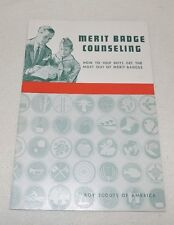 Merit Badge Counseling: How to Help Boys Get the Most Out of Merit Badges 1963