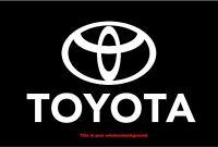 Toyota Logo Car/Truck Vinyl Decal Sticker ships from USA