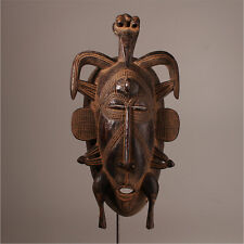10922 Senufo Kepelie Mask Poro Iconic Elfenbeinkuste