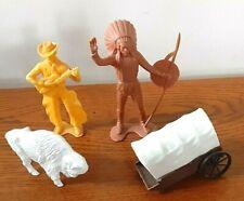 Vintage toys Old West 1960's 1970's