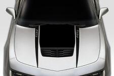 Custom Vinyl Decal Wrap for Chevy Chevrolet Camaro 2010-15 RS HOOD SPEARS BLACK