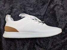 NEW IN BOX STEVE MADDEN SIZE 13 WHITE SNEAKERS SHOES P-SCARPE FAUX LEATHER