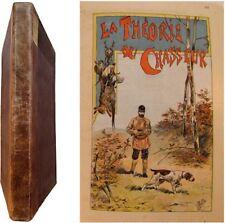 Les chiens et la théorie de la Chasse 1896 aquarelles Malher Chasseur Français