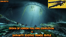 Destiny 2 -  Garden Of Salvation / Divinity Exotic - FULL Completion PS4