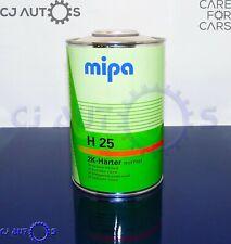 MIPA 2K ACRYLIC H25 NORMAL STANDARD MEDIUM ACTIVATOR HARDENER CATALYST 1 Litre