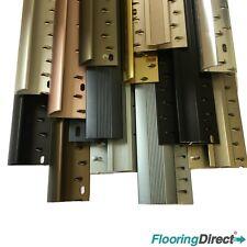 Carpet and Flooring Door Bars Multi Colour - 90cm & 2.7m Metal Threshold Strips
