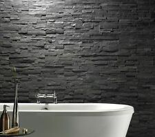 QRT-86 PO18-2 BLACK STACKSTONE 150X600 STRAIGHT CUT