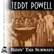 TEDDY POWELL - Ridin' the Subways - (CD, Apr-2001, Hep (UK))-NEW