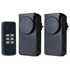 2 prises télécommandées extérieures étanches IP44 + télécommande borne potelet