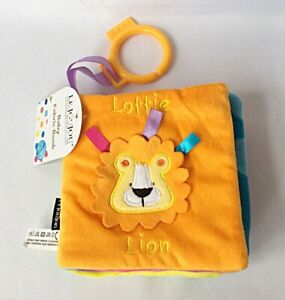 EARLY EDUCATIONAL SOFT FLEECE CLOTH FABRIC BABY TODDLER BOOK - BRAND NEW