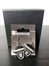 Oakland Raiders Football Style Dangle Earrings NFL Fan Apparel